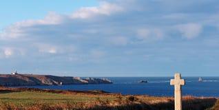 Brittany coast, pointe du Van Stock Image