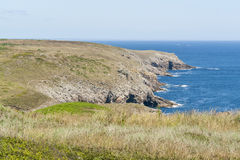 Pointe du Raz in Brittany Royalty Free Stock Images