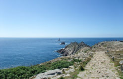 Pointe du Raz in Brittany Stock Images