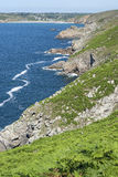 Pointe du Raz in Brittany Royalty Free Stock Photos