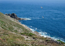 Pointe du Raz in Brittany Royalty Free Stock Image