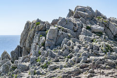 Pointe du Raz in Brittany Royalty Free Stock Photo