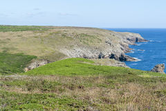 Pointe du Raz in Brittany Stock Image