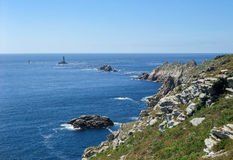 Pointe du Raz in Brittany Stock Photos