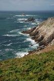 Pointe du Raz, Brittany, Frankrike Arkivfoton