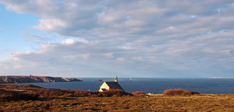 Saint-They chapel  in brittany coast Royalty Free Stock Image