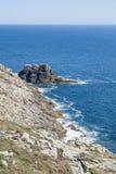 Pointe du raz en Bretaña Foto de archivo