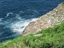 Pointe du raz en Bretaña Fotografía de archivo