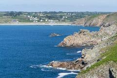 Pointe du raz en Bretaña Fotografía de archivo libre de regalías