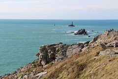 Pointe du Raz in Plogoff Royalty Free Stock Image