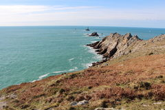Pointe du Raz in Plogoff Royalty Free Stock Photo