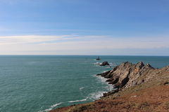 Pointe du Raz in Plogoff Royalty Free Stock Photography