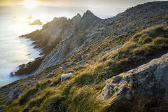 Pointe du Raz in Plogoff, Brittany, France Royalty Free Stock Photos