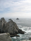 Pointe du Raz and sea coast in Brittany Stock Image