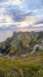 Pointe du Stylo-Hir France Photo stock