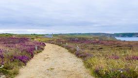 Pointe du Van Γαλλία Στοκ φωτογραφίες με δικαίωμα ελεύθερης χρήσης