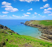 Pointe du Van - Brittany, France Royalty Free Stock Image