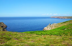 Pointe du Van - Brittany, Northern France Stock Photos