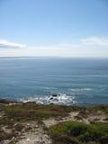 Pointe e costa di mare in Bretagna Fotografie Stock Libere da Diritti
