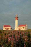 Pointe Mitis Lighthouse Stock Photography
