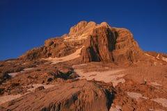 Pointe Percee en la puesta del sol imágenes de archivo libres de regalías