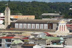 Pointe-a-Pitre, Guadeloupe, des Caraïbes Photographie stock