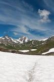 Pointe Rousse pass, Italy Royalty Free Stock Photo