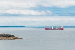 Pointe Santo-Mateo à Dans le Finistère de Plougonvelin foto de archivo libre de regalías