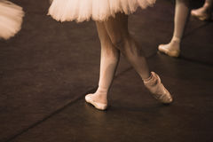 Pointe shoes 2 Stock Photography