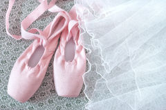Pointe shoes Royalty Free Stock Photos