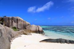 Pointe Source d'Argent. La Digue, Seychelles Stock Images