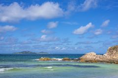 Pointe Ste Marie, Seychelles Stock Images