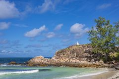 Pointe Ste Marie, Seychelles Stock Photography