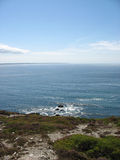 Pointe und Seeküste in Bretagne Lizenzfreie Stockfotos