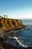 Pointe Vincente Lighthouse. Sitting on a bluff overlooking the Pacific Ocean Stock Photography