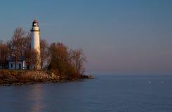 Pointe Zusatzbarques-Leuchtturm Stockfotos