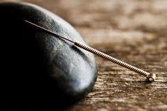 Pointeau d'acuponcture image libre de droits