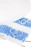 Pointeau de laine d'amorçage et de tricotage Photographie stock