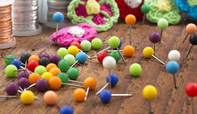 Pointeaux colorés Photo stock