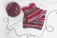 Pointeaux de boucle et de tricotage. Photos libres de droits