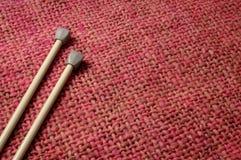 Pointeaux et laines Image libre de droits