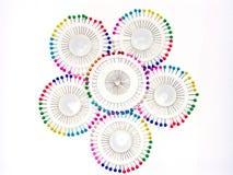 Pointeaux multicolores 5 Photos libres de droits