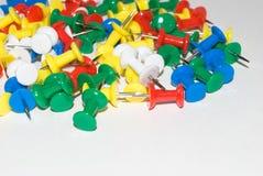 Pointeaux multicolores d'écriture photographie stock