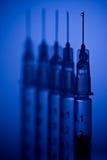 Pointeaux prêts pour l'injection Images stock