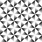 Pointed lines repeatable pattern. Pointed lines repeatable seamless pattern. Monochrome abstract background. - Royalty free vector illustration Stock Photography