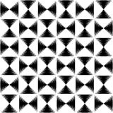 Pointed lines repeatable pattern. Pointed lines repeatable seamless pattern. Monochrome abstract background. - Royalty free vector illustration Stock Images