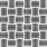Pointed lines repeatable pattern. Pointed lines repeatable seamless pattern. Monochrome abstract background. - Royalty free vector illustration Royalty Free Stock Images