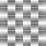 Pointed lines repeatable pattern. Pointed lines repeatable seamless pattern. Monochrome abstract background. - Royalty free vector illustration Royalty Free Stock Photo