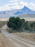 Pointed mountain near Nieu Bethesda in the Eastern Cape province of South Africa Royalty Free Stock Photography