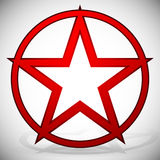 5-pointed Star Royalty Free Stock Images